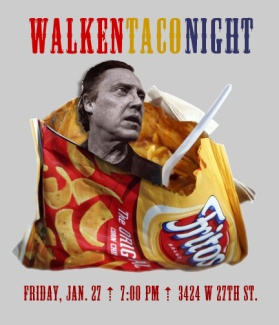 Walken Taco Night
